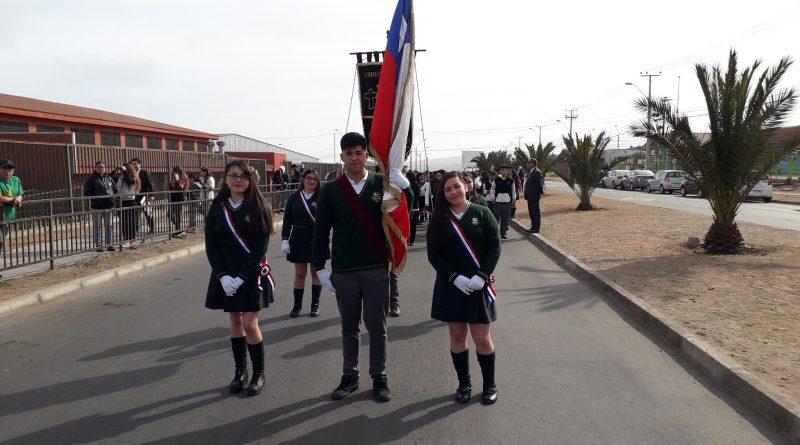 Desfile Institucional XIV Años